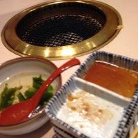 Photo taken at 焼肉むさし 幕張店 by Masamichi I. on 2/16/2014