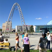 Photo taken at Карильон у Ледового дворца by A. on 8/24/2015
