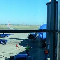Photo taken at Rick Husband Amarillo International Airport (AMA) by Jason S. on 9/15/2012