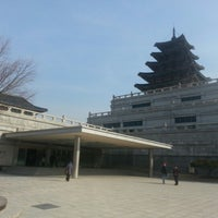 Photo taken at The National Folk Museum of Korea by Steve W. on 1/28/2013