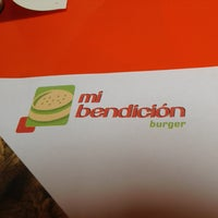 Photo taken at Mi Bendicion Burger by Daniel on 7/25/2013