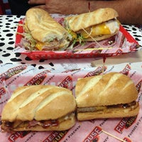 Photo taken at Firehouse Subs by Veronica on 1/29/2013