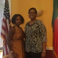 Photo taken at Embassy Of The Republic of Benin by MC B. on 9/2/2017