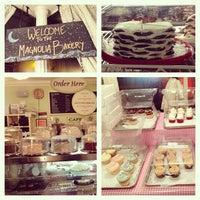 Photo taken at Magnolia Bakery by Rodrigo C. on 1/4/2013