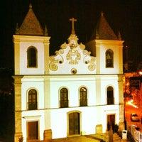 Photo taken at Espaco Cultural Igreja Da Barroquinha by Fabrício C. on 4/4/2014