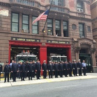 Photo taken at FDNY Engine 39/Ladder 16 by sonia m. on 9/11/2014