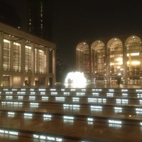 Photo taken at Josie Robertson Plaza (Lincoln Center Plaza) by sonia m. on 6/12/2013