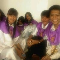 Photo taken at Ruangan choir lt. 3 by Arie Y. on 11/4/2012