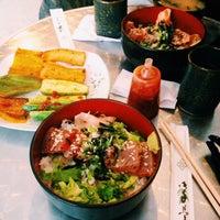 Photo taken at Uma Uma Japanese Kitchen by Kika N. on 7/3/2014