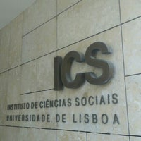 Photo taken at Instituto de Ciências Sociais - Universidade de Lisboa by Pedro Juárez F. on 5/29/2015