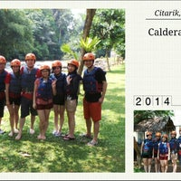 Photo taken at Caldera Rafting and Outbond by Henry GOUW on 5/4/2014