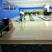 Photo taken at Playbowling by Mustafa on 10/12/2012