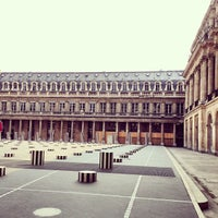 Photo prise au Palais Royal par R A. le4/4/2013