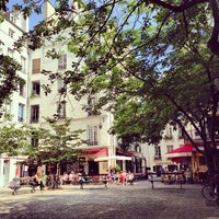 Photo taken at Place du Marché Sainte-Catherine by R A. on 7/6/2013