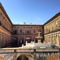 Photo taken at Pitti Palace by R A. on 4/19/2013