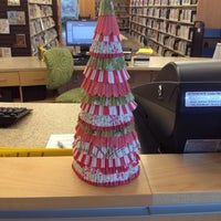 Photo taken at Wake Forest Community Library by Miki F. on 12/23/2013