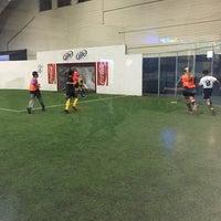 Photo taken at Soccer City by Brett M. on 11/29/2014