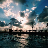 Photo taken at Gordon Swimming Pool by Diana on 9/24/2013