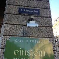 Photo taken at Café Einstein by Andy on 10/14/2012