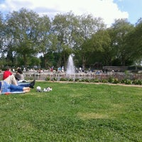 Photo taken at Bishop's Park by Rossella A. on 6/2/2013