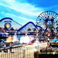 Снимок сделан в Disney California Adventure Park пользователем Marisa 5/3/2013