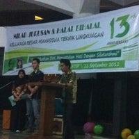 Photo taken at Hall FTSP - UII by Awaluddin N. on 9/22/2012