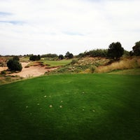 Photo taken at Butterfield Trails Golf Course by Aaron A. on 10/13/2013