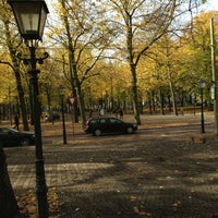 Photo taken at Lange Voorhout by Bobby T. on 10/22/2012