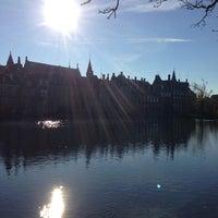 Photo taken at Hofvijver by Bobby T. on 11/14/2012