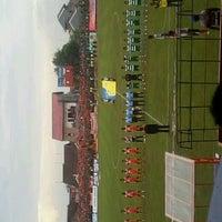 Photo taken at Stadion Krida Rembang by Andita V. on 3/2/2013