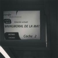 Photo taken at Estación Renfe - Navalmoral de La Mata by Tere R. on 9/7/2015