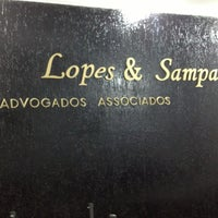 Photo taken at Lopes &  Sampaio Advogados by Luciana on 7/13/2013