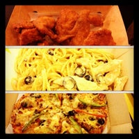 Photo taken at Yellow Cab Pizza Co. by Amy on 10/8/2012
