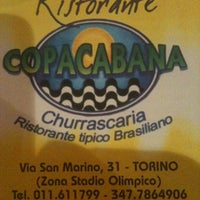 Photo taken at Ristorante Copacabana by Elisa l. on 10/21/2012