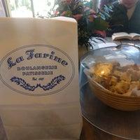 Photo taken at La Farine Boulangerie Patisserie by Alice O. on 1/14/2017