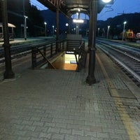 Photo taken at Stazione Ferroviaria Vernio by Lapo B. on 9/3/2013