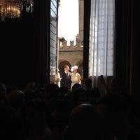 Photo taken at Palazzo d'Accursio - Palazzo Comunale by Luigi on 7/5/2014