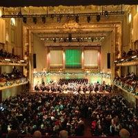 12/20/2012 tarihinde chanabodi c.ziyaretçi tarafından Symphony Hall'de çekilen fotoğraf