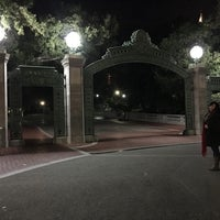 Photo taken at Sather Gate by Mona W. on 11/26/2016