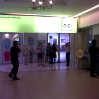 Photo taken at DiGi Centre by Ecah A. on 10/13/2012