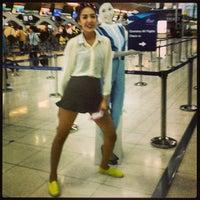Photo taken at Bangkok Airway Booth by Christ C. on 6/12/2013