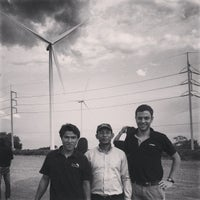 Photo taken at Wind Farm Huay Bong by Christ C. on 5/17/2013
