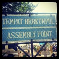 Photo taken at Taman BRI II by ichsan k. on 2/1/2013