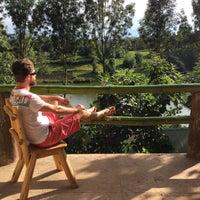 Photo taken at Bunyonyi Overland Resort by nereyekacsak.com on 4/6/2015
