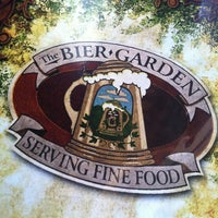 Photo taken at The Bier Garden by Abbey on 1/20/2013