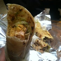 Photo taken at The Kati Roll Company by GG on 11/6/2012