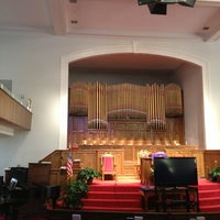 Photo taken at 16th Street Baptist Church by Robb on 3/19/2013
