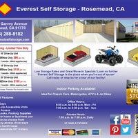 ... Photo Taken At Everest Self Storage Rosemead By Everest Self Storage  Rosemead On 10/25 ...