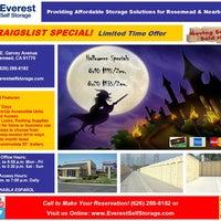 ... Photo Taken At Everest Self Storage Rosemead By Everest Self Storage  Rosemead On 10/12 ...