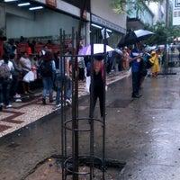 Photo taken at Ponto do Bus 2212 A, B e C by Tiago F. on 11/10/2012